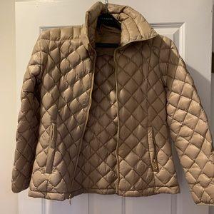 Tan Michael Kors Packable Coat